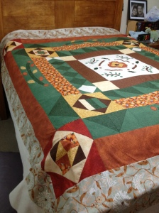 Ready for the quilter